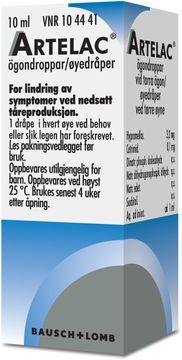 Artelac Hypromellos, ögondroppar, lösning, 10 ml