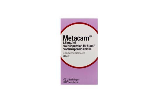 Metacam för hund Oral suspension 1,5 mg/ml 180 milliliter