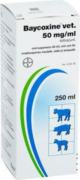 Baycoxine vet Oral suspension 50 mg/ml 250 milliliter