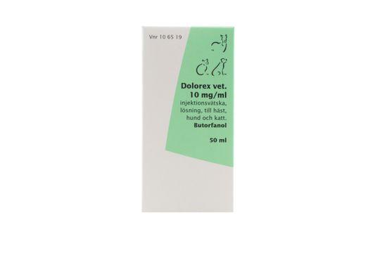Dolorex vet. Injektionsvätska, lösning 10 mg/ml 50 milliliter
