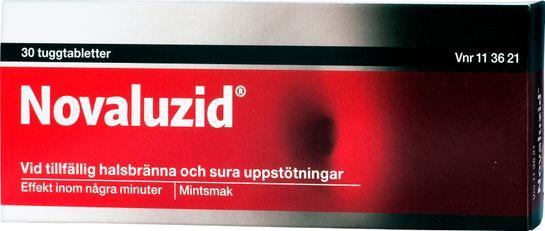Novaluzid Tuggtablett, 30 st