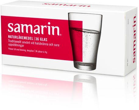 Samarin Naturläkemedel Natriumbikarbonat, pulver, 36 st