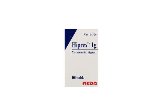 Hiprex Tablett 1 g Metenaminhippurat 100 styck