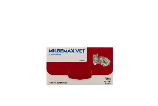 Milbemax vet. för katter Filmdragerad tablett 20 styck