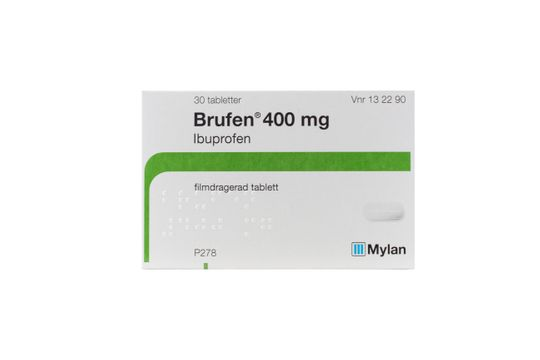 Brufen Filmdragerad tablett 400 mg Ibuprofen 30 styck