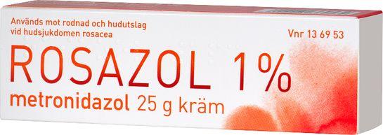 Rosazol Kräm 1 % Metronidazol 25 gram