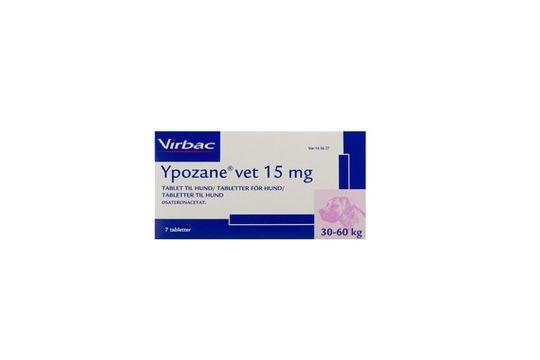 Ypozane Tablett 15 mg 7 tablett(er)