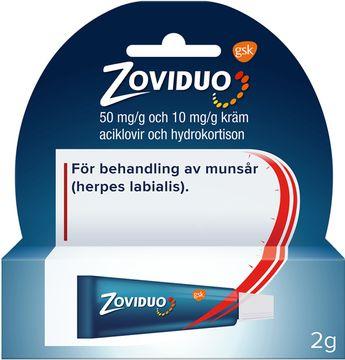 Zoviduo Kräm mot munsår