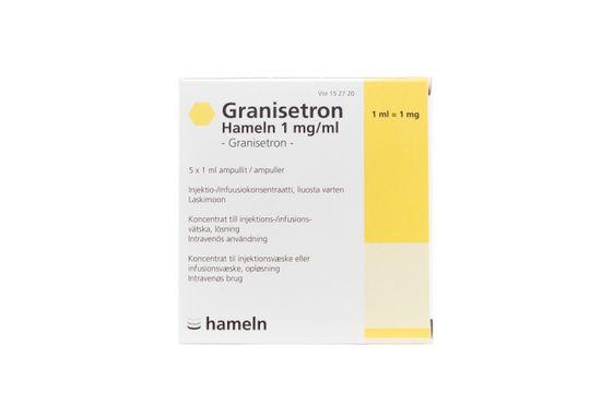 Granisetron Hameln Koncentrat till injektions-/infusionsvätska, lösning 1 mg/ml Granisetron 5 x 1 milliliter