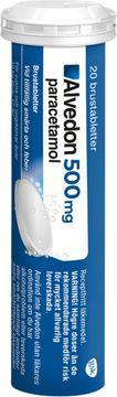 Alvedon, 500 mg Paracetamol, brustablett, 20 st