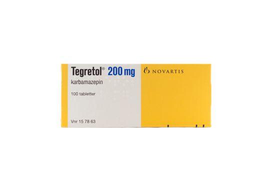 Tegretol Tablett 200 mg Karbamazepin 100 styck