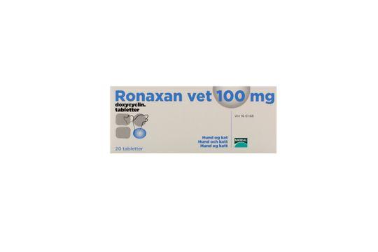 Ronaxan vet. Tablett 100 mg 20 tablett(er)