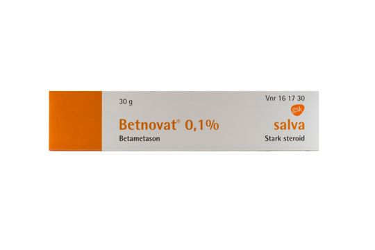 Betnovat Salva 0,1 % Betametason 30 gram