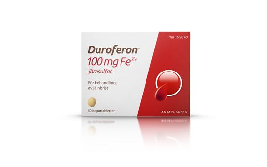 Duroferon Depottablett 100 mg Fe2+ 60 styck