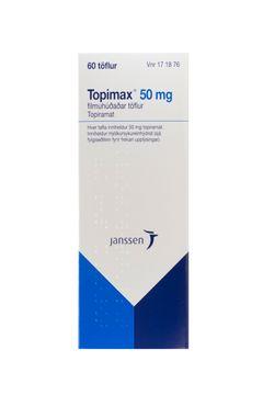 Topimax Filmdragerad tablett 50 mg Topiramat 60 styck