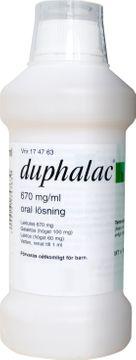 Duphalac Oral lösning 670 mg/ml Laktulos 500 milliliter