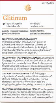 Florealis Glitinum Mot migrän. Kapsel, hård 30 kapsel/kapslar