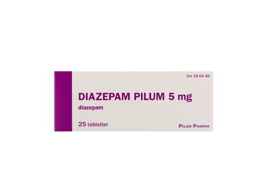 Diazepam Pilum Tablett 5 mg Diazepam 25 tablett(er)