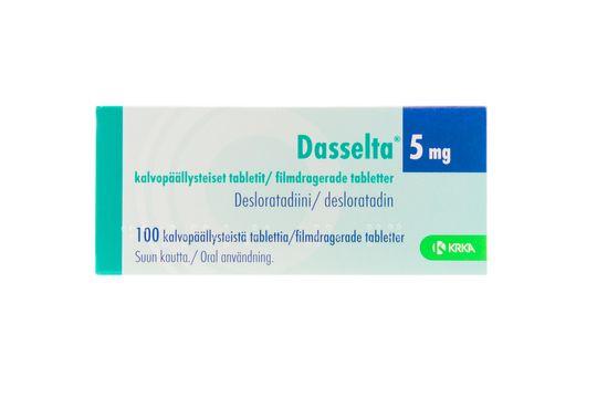 Dasselta Filmdragerad tablett 5 mg Desloratadin 100 tablett(er)