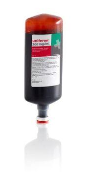 Uniferon Injektionsvätska, lösning 200 mg fe3+/ml 10 x 100 milliliter