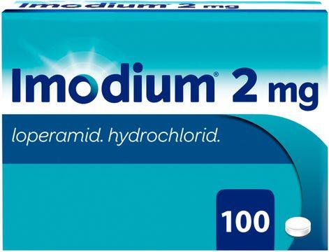 Imodium Tablett 2 mg Loperamid 100 styck