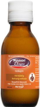 Nipaxon 2,5 mg/ml Noskapin, oral suspension, 100 ml