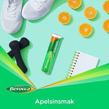 Berocca Performance Apelsin Brustablett, 15 st