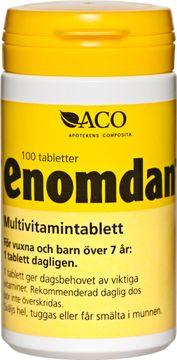 ACO Enomdan Multivitamintablett Tuggtabletter, 100 st