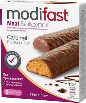 Modifast Low GI Bar Karamell Bar, 6 st