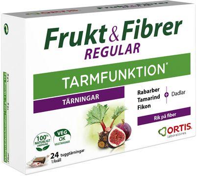 Frukt & Fibrer frukttärning Frukttärning, 24 st