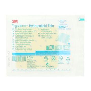 3M Tegaderm Hydrocolloid Thin platta, 10 x 10 cm, 90022 5 styck