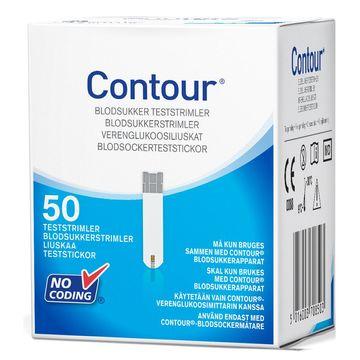 Contour teststickor 50 st