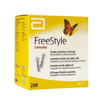 FreeStyle Lancets lancetter, 0,36 mm (28G) 200 styck