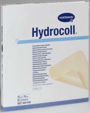 Hydrocoll platta (lm-nära), 15x15 cm 10 styck