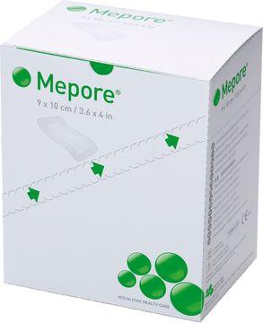 Mepore absorberande förband vid stomi, 9x10 cm, enstycksförp. 50 styck