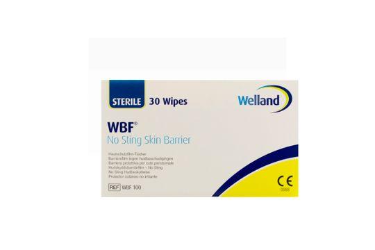 Axotan Welland WBF Hudskyddsbarriärfilm No Sting., 2,5 ml, enstycksförpackade, sterila 30 styck