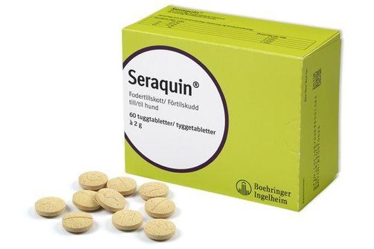 Seraquin tuggtablett Tablett, 60 st