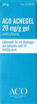 ACO Acnegel 20 mg/g Salicylsyra, gel, 30 ml