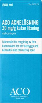 ACO Acnelösning 20 mg/g Salicylsyra, kutan lösning, 200 ml
