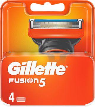 Gillette Fusion5 Rakblad, 4 st