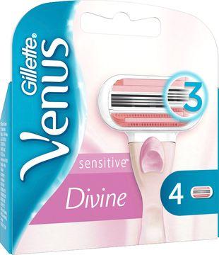 Venus Divine Sensitive Rakblad. 4 st