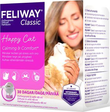 Feliway Classic Lösning + Doftspridare Feromondoftavgivare, 48 ml