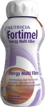 Fortimel Energy Multi Fibre drickfärdigt kosttillägg, choklad 4 x 200 milliliter
