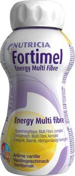 Fortimel Energy Multi Fibre drickfärdigt kosttillägg, vanilj 4 x 200 milliliter