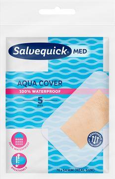 Salvequick Aqua Maxi Cover Plåster, 5 st