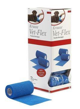 Kruuse Vet-Flex Vet-Flex 10Cmx4,5M Blå 10X1 ST