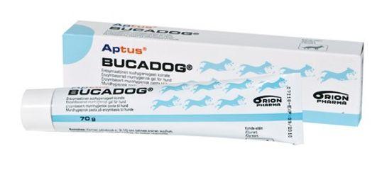 Aptus Bucadog Oral Pasta Tandpasta för djur, 70 g