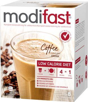 Modifast Pulver Kaffe Pulver, 8x55 g