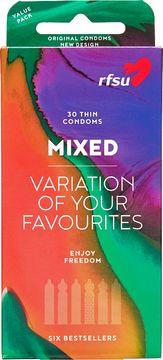 RFSU Mixpack Mix av olika populära kondomer 30st