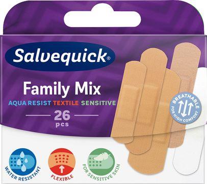 SalvequickMED Mixed-pack Plåster, 26 st